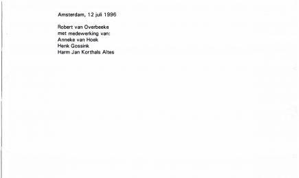 Het flatwachtenproject in de Bijlmermeer; Deel 2: effectevaluatie criminaliteit en onveiligheidsbeleving procesevaluatie