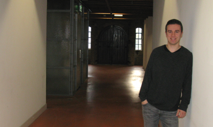 DSP-stagiair Rutger Teeuwen doet onderzoek naar BlueZones
