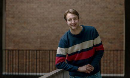 Stagiair Vincent de Goeij werkt drie maanden bij DSP