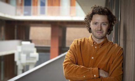 Nieuwe collega DSP: onderzoeker Yan Crabbendam