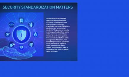 CEN-brochure Security Standardization